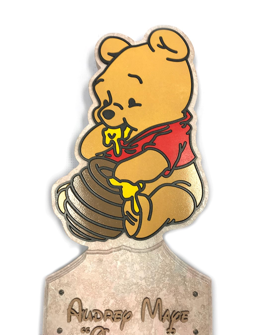 pooh bear character handle