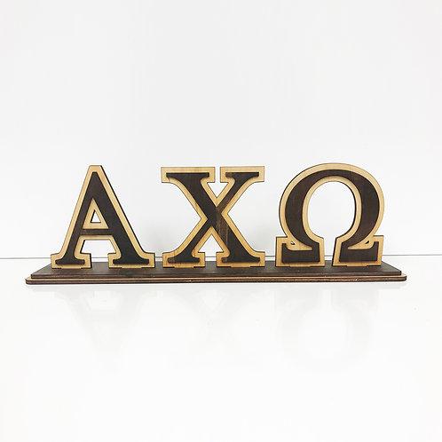 Alpha Chi Omega Desktop Letters