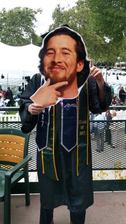Graduation big Head