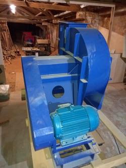 ventilador do exaustor 15cv