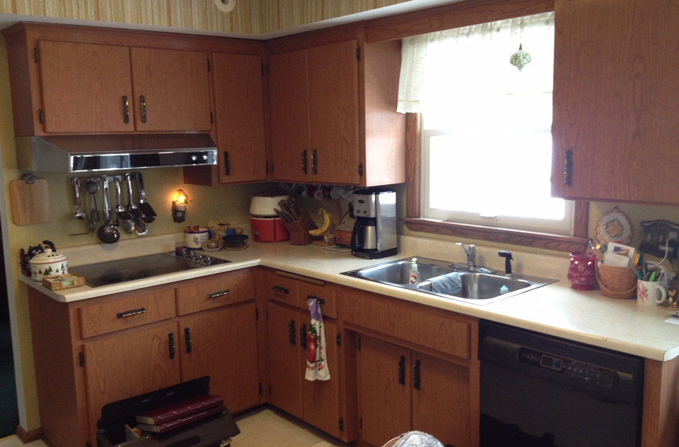 Savers New Kitchen Before