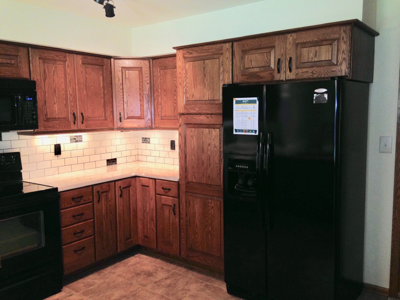 Refacing Kitchen After