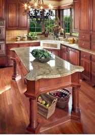 Persian Brown granite island countertops