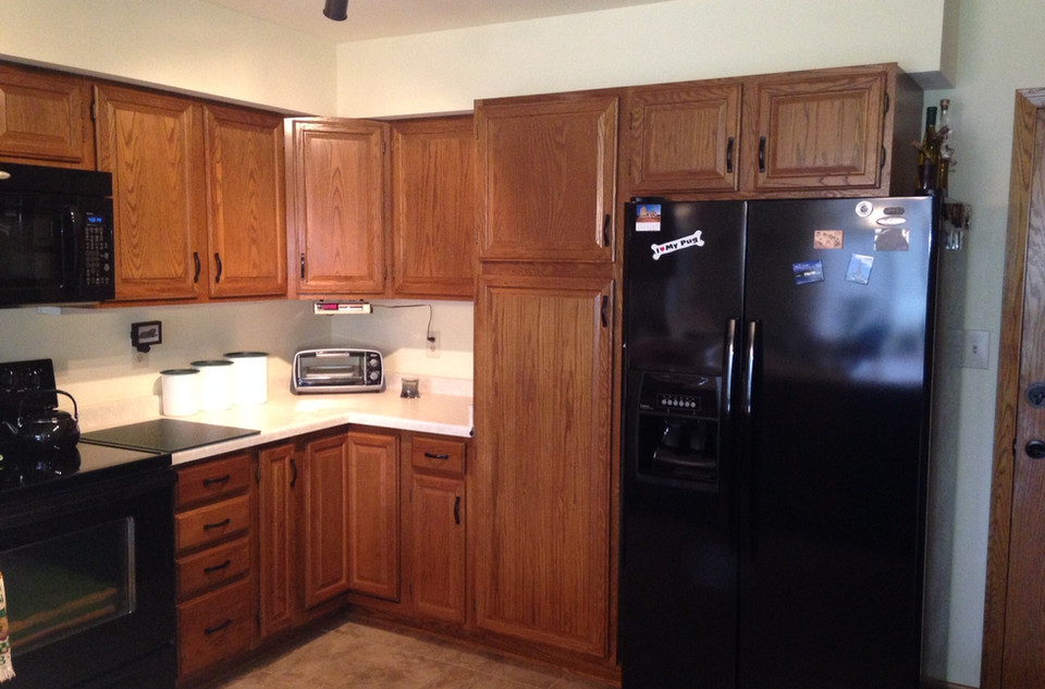 Refacing Kitchen Before