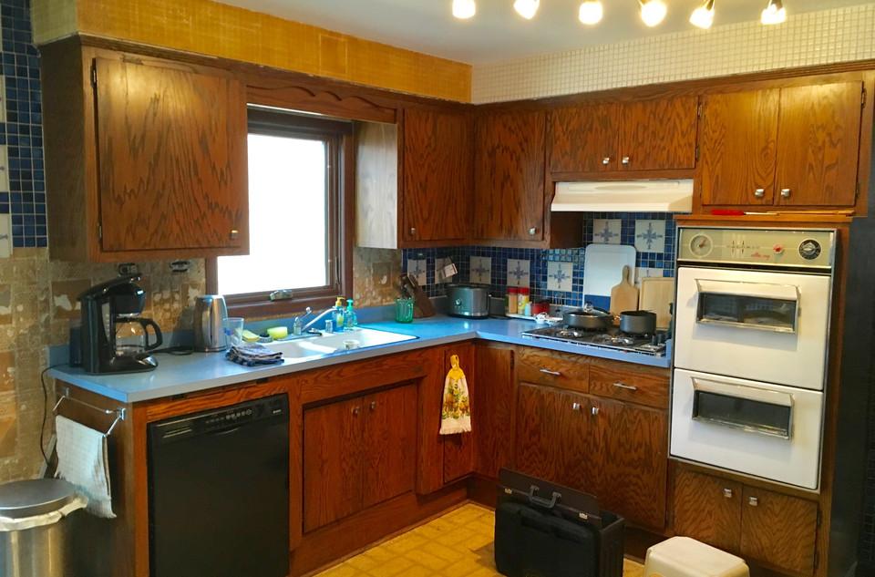 New Kitchen Before