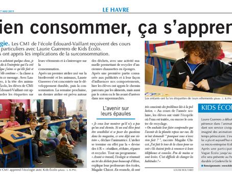 Kids Ecolo dans Paris Normandie !