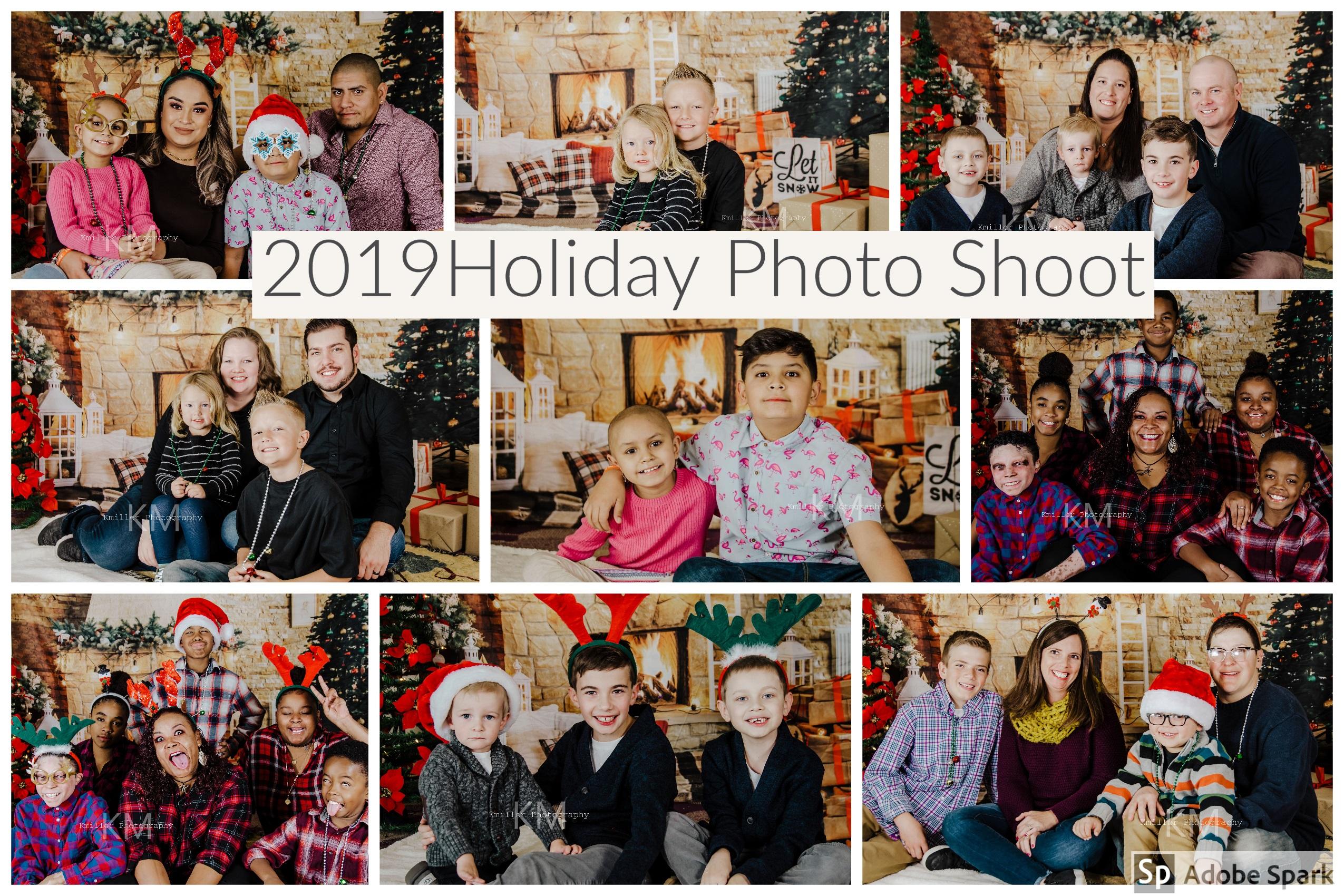 2019 holiday photo shoot