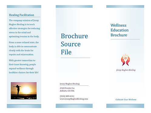 Brochure Soft Tissue Injury Source File