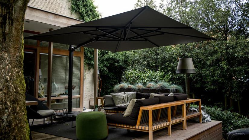 Jardinico Caractere parasol charcoal fee