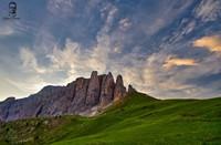 Dolomity - Passo Sella