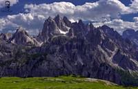 Dolomity - Forcella del Col de Mezzo