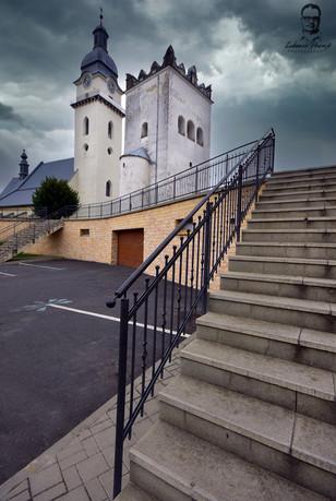 Kostol sv. Antona Pustovníka - Spišská Belá