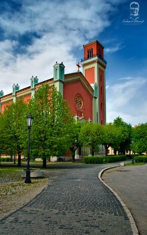 Nový evanjelický kostol - Kežmarok