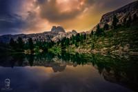 Dolomity - Lago di Limides
