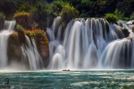 Vodopády Krka - Chorvátsko