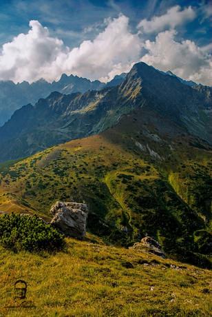 Jahňací štít z Kopskeho sedla - Vysoké Tatry