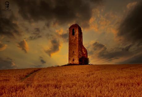 Miloj - Pozostatky kostola - Spiš