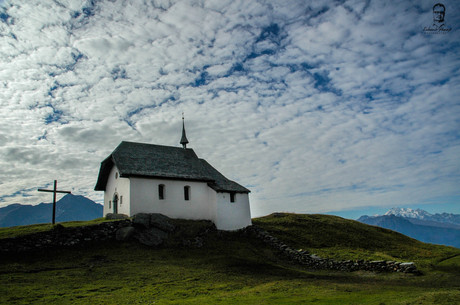 Kaplnka sv. Márie - Bettmeralp - Švajčiarsko