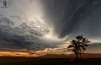 Večerná dráma na oblohe - Šuňava