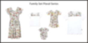 Floral series collage fdress24 white upd
