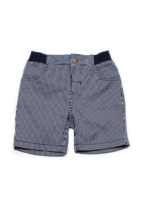 Striped Shorts NAVY (Boy's Shorts)