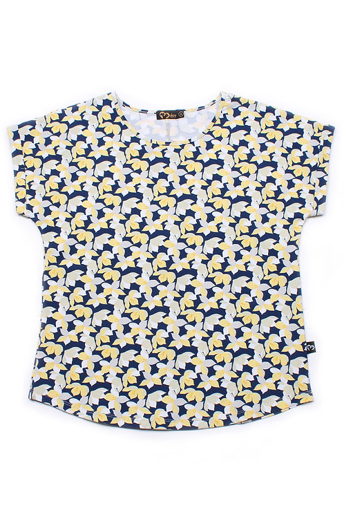 Floral Print Blouse YELLOW (Ladies' Top)