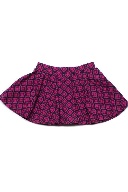 Design Print Skirt PURPLE (Girl's Bottom)