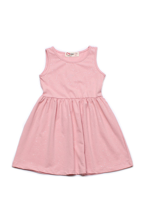 Glitter Dust Dress PINK (Girl's Dress)