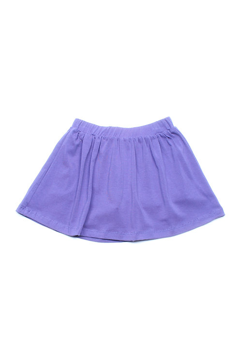 Classic Plain Skirt PURPLE (Girl's Bottom)