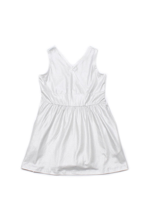 Criss Cross Dress PEARL WHITE (Girl's Dress)