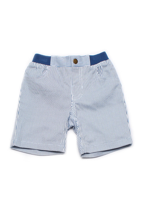 Striped Shorts WHITE (Boy's Shorts)