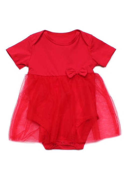 Bubble Romper RED (Baby Romper)