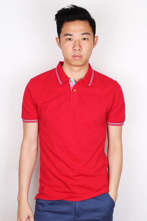 Polo T-Shirt DARKRED (Men's Polo)