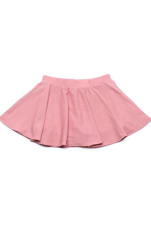 Ridged Fabric Skirt PINK (Girl's Bottom)