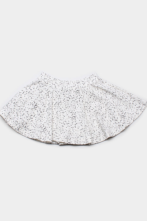 Spinkles Print Skirt WHITE (Girl's Bottom)