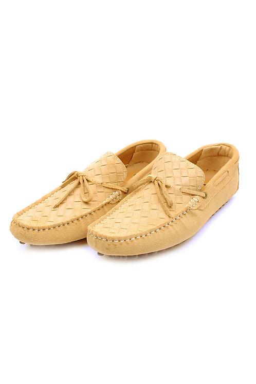 Classic Driving Loafer Shoe KHAKI (Men's Shoes)