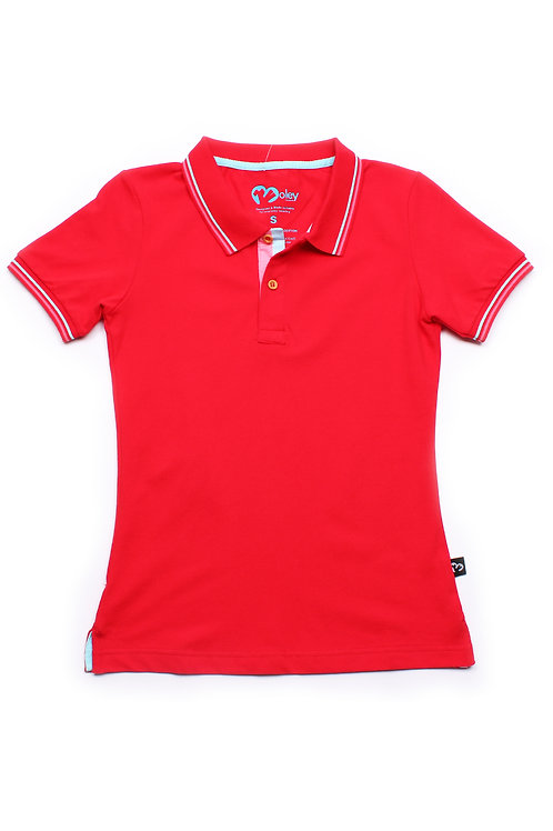 Classic Polo DARKRED (Ladies' Top)