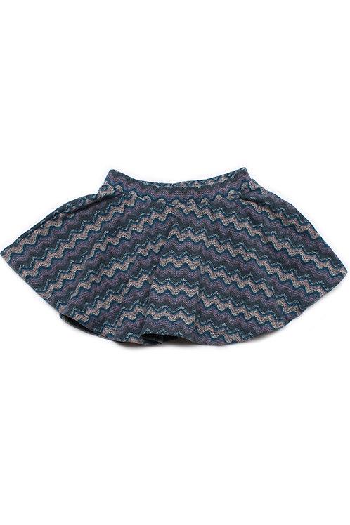 Design Print Skirt GREY (Girl's Bottom)