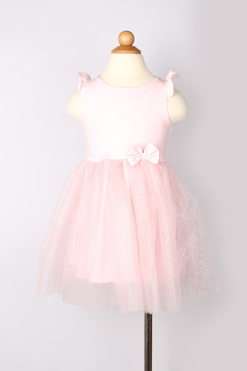 Glitter Bubble Dress PINK (Girl's Dress)