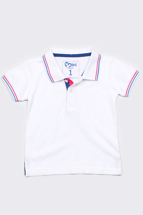Polo T-Shirt WHITE (Boy's T-Shirt)