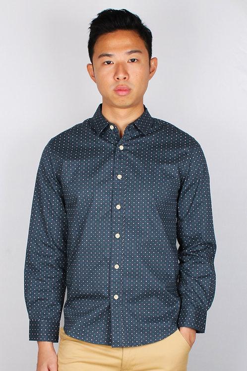 Digital Pixel Long Sleeve Shirt BLUE (Men's Shirt)