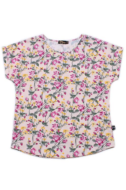 Floral Print Blouse CREAM (Ladies' Top)