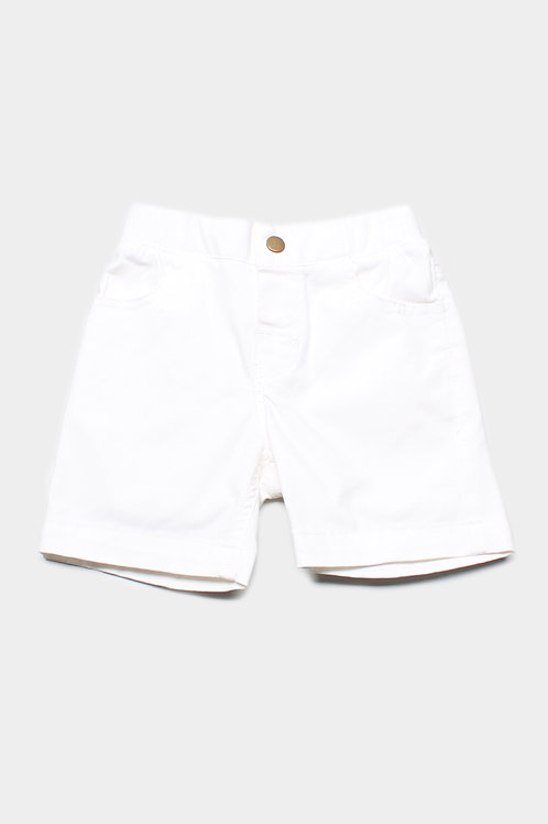 Classic Shorts WHITE (Boy's Shorts)