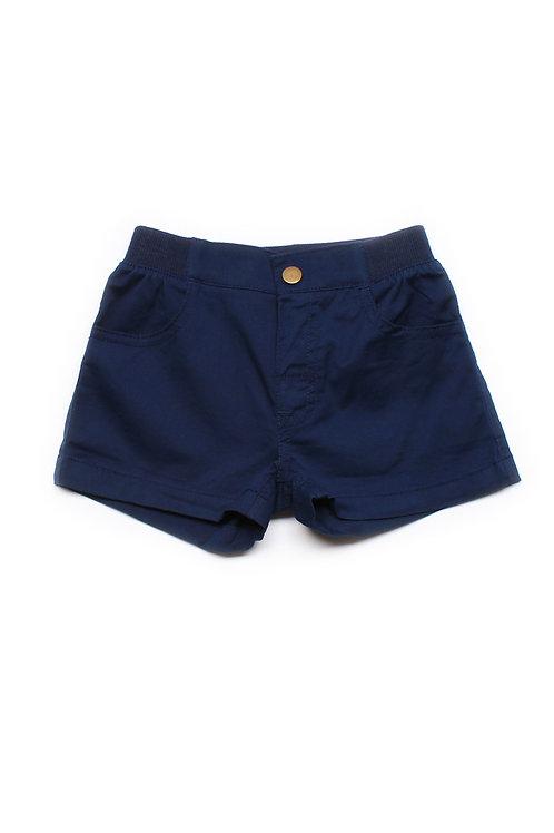 Classic Shorts NAVY (Girl's Bottom)