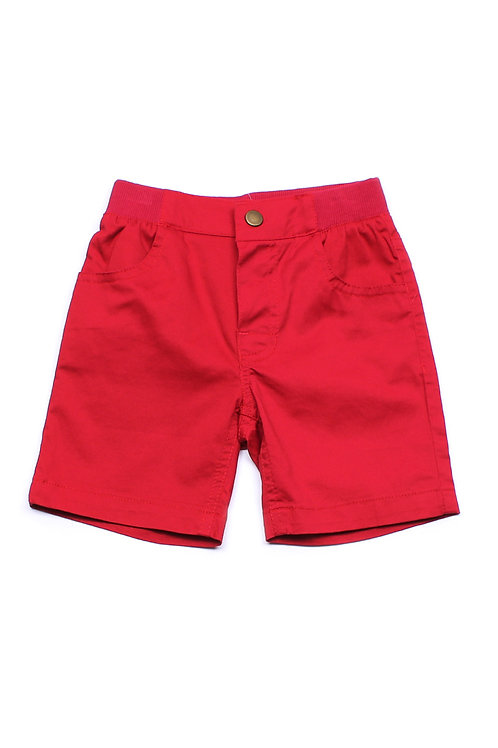 Classic Shorts RED (Boy's Shorts)