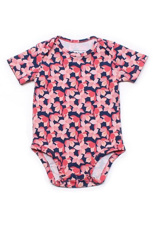 Floral Print Romper PINK (Baby Romper)