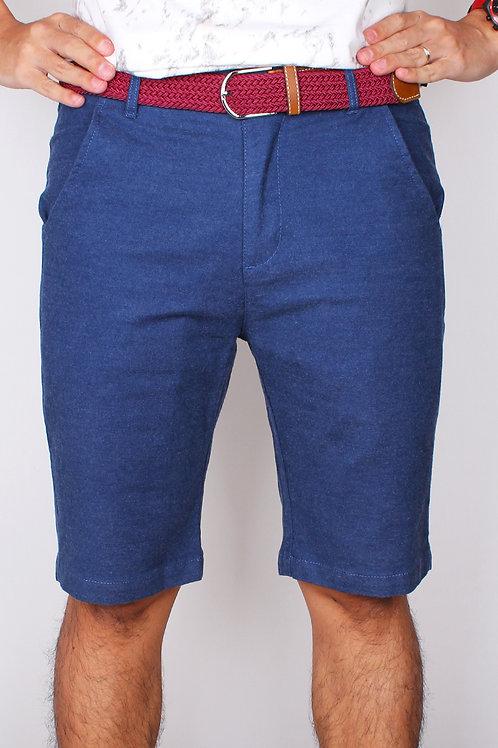 Brushed Denim Cotton Bermudas BLUE (Men's Bottom)