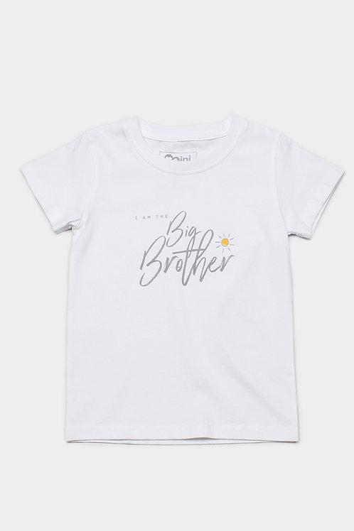 BIG BROTHER T-Shirt WHITE (Boy's T-Shirt)