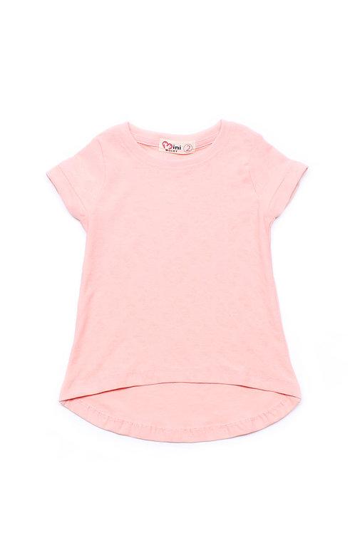 Floral Imprint T-Shirt PINK (Girl's Top)