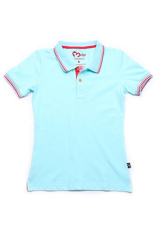 Classic Polo CYAN (Ladies' Top)